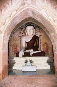 Buda Budha Buddha Buddha in Bagan Yangon Myanmar Asia