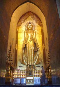 Buddha in Bagan Yangon Myanmar Asia